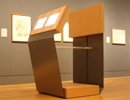 exhibit kiosks