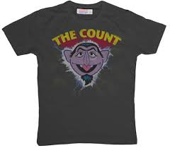 the count t shirt