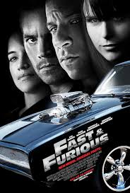 the fast and the furious 4 poster