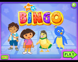 Nick Jr games ( bingo )