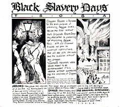 black slavery days