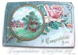 congratulations postcards