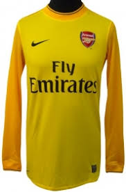 arsenal goalie kit