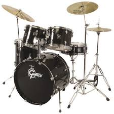 black drum kit