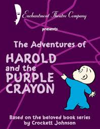 harry and the purple crayon