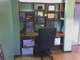 desk closet