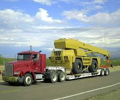 heavy equipment trailer