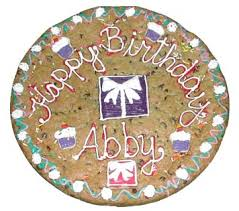 decorated cookie cakes