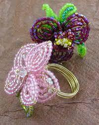 bead flower ring