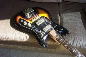 teisco del ray guitars