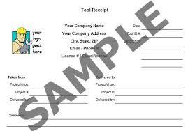 contractor receipt