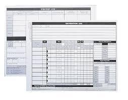 flight plan sheets