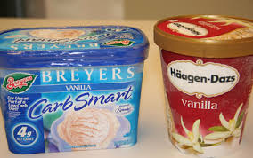 brands of ice cream