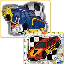 race car cake pans