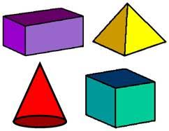 3d shapes cone