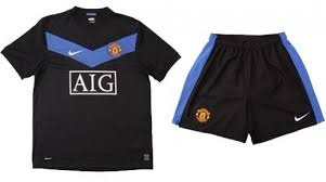 manchester united away kit 2009