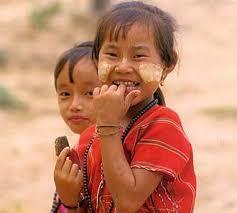 burma children