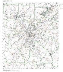metro atlanta zip code map