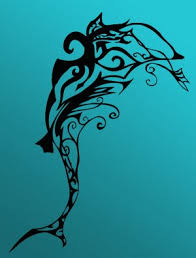dolphin tribal tattoos