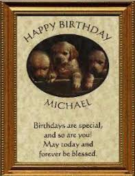 birthday plaques