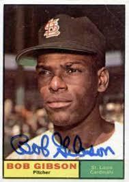 bob gibson baseball
