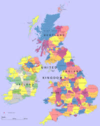 map for uk