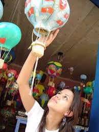 tienda de globos