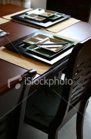 asian table settings