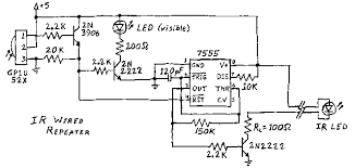 infrared remote control circuits