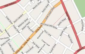lane map