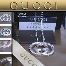 mens gucci necklace