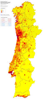 portugal population density