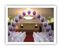 balloons for wedding