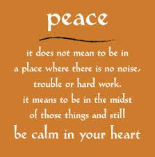 peace poem