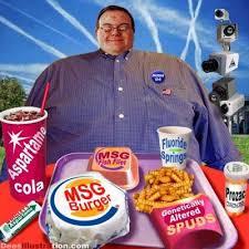 junk food eating