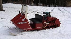 snowmobile vintage