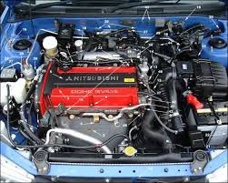 mitsubishi evo engines