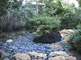 landscaping with river rock
