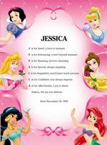 disney princess poems