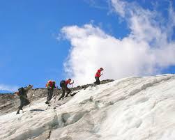 mountain climbing guide