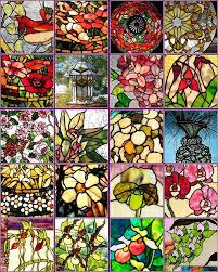 free stain glass pattern