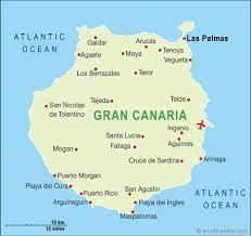 gran canaria maps