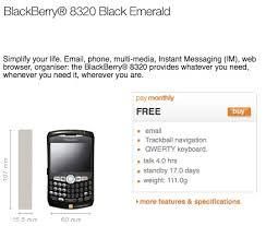 blackberry curve 8320 orange