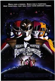 mighty morphin power rangers posters