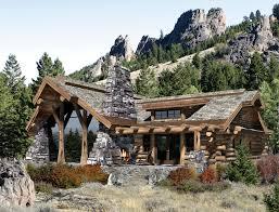 log home images