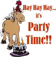 happy birthday horses