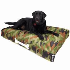 camouflage dog beds