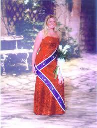 rebel flag wedding dress