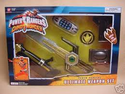 power ranger weapons