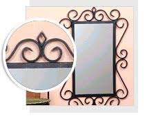 iron picture frames